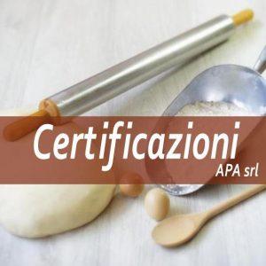 ISO 22000 sistemi di gestione sicurezza e igiene alimentare: la qualità dei nostri prodotti è garantita dall'applicazione scrupolosa delle procedure H.A.C.C.P. redatte in conformità alla normativa UNI EN ISO 22000. Certificazione RSPO (Roundtable on Sustainable Palm Oil)