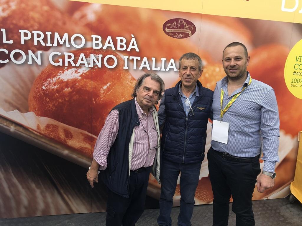 con il politico Brunetta
