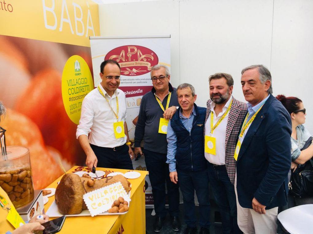 con Presidente e  dirigenti Coldiretti