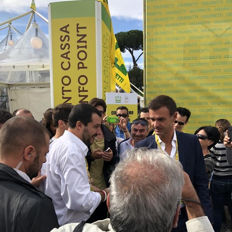 ospite della manifestazione il vice premier Salvini
