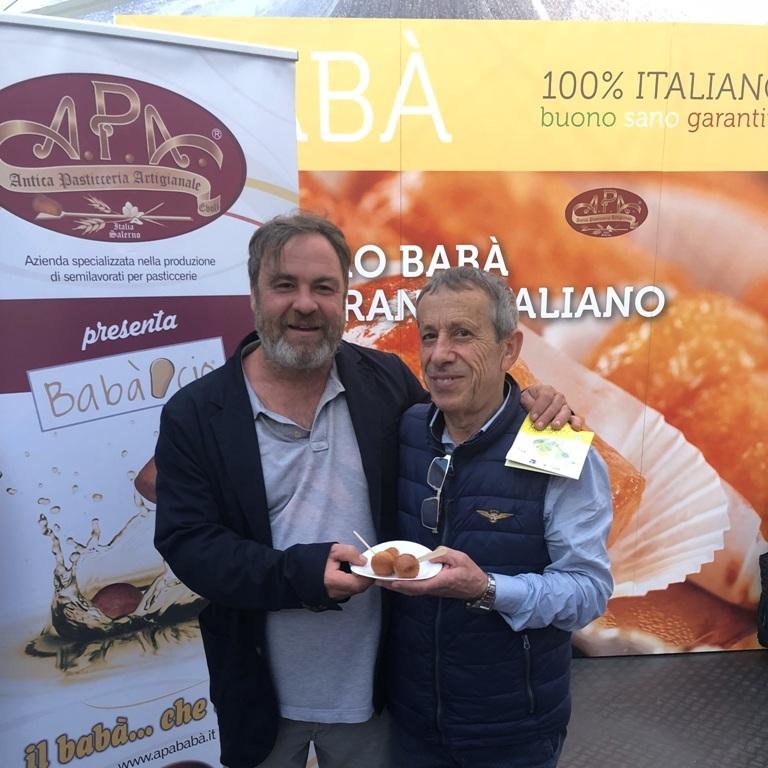 con lo chef Fabio Baldassarre